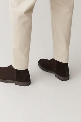 Cos Waterproof-Suede Zipped Boots