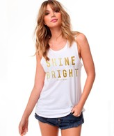 Spiritual Gangster Shine Bright Muscle Tank Top