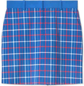 Tory Burch Printed Tech Stretch Twill Golf Skirt