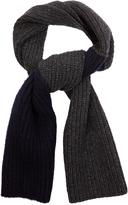 Marni Colour-block wool scarf