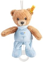 Steiff 20cm Sleep Well Bear Music Box (Blue) by