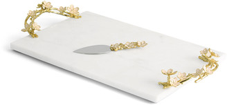 Michael Aram Cherry Blossom Large Cheese Board with Spreader
