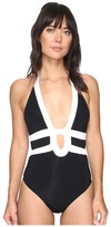 Jets Classique Banded Halter One-Piece Women's Swimsuits One Piece