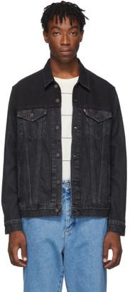 Levi's Levis Black Vintage Trucker Jacket