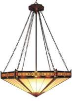 Bed Bath & Beyond Elk Lighting ELK Lighting Filigree and Glass 3-Light Pendant Finished in Aged Bronze