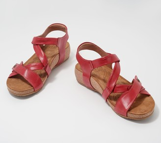 Taos Leather Adjustable Sandals - Universe
