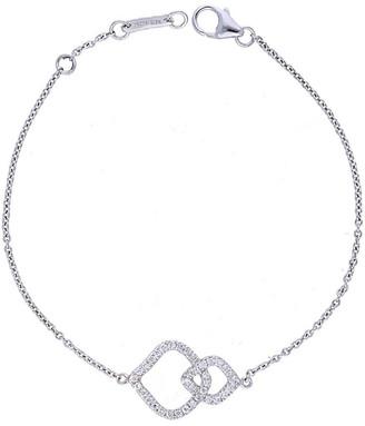 Nephora 14K 0.21 Ct. Tw. Diamond Interlocking Bracelet