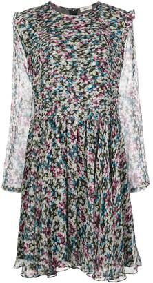 Jason Wu Abstract-Print Flared Dress