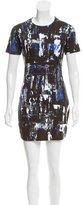 McQ by Alexander McQueen Printed Sheath Dress