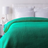 The Well Appointed House Green Albany Bed Quilt-Available in Three Different Sizes