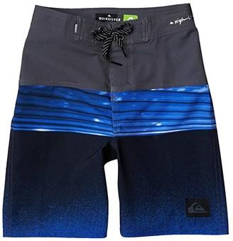 Quiksilver Highline Hold Down (Big Kids) (Iron Gate) Boy's Swimwear