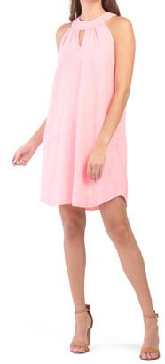 Linen Cleo Collar Dress