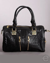 Treesje Presley Bag in Black Shine