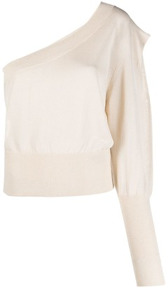 FEDERICA TOSI One-Shoulder Knitted Top