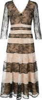 Carolina Herrera - robe à rayures en