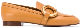Chloé Ring-Detail Loafers