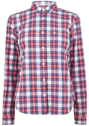Jack Wills Homefore Classic Fit Checked Shirt