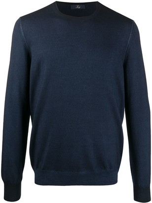 Fay Crew-Neck Virgin Wool Jumper