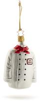 Sur La Table Chef Coat Glass Ornament