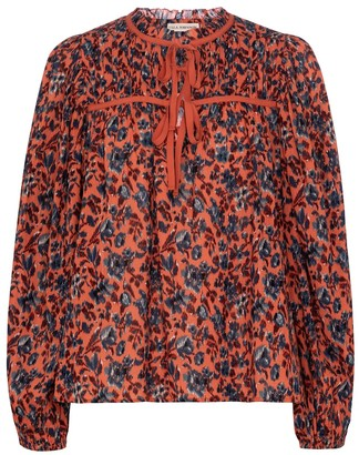 Ulla Johnson Jeanne floral cotton blouse