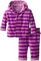 Magnificent Baby Baby-Girls Infant Velour Hoodie and Pants