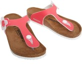Birkenstock Infant Girls Gizeh Birko-Flor Narrow Fit Sandals Candy Pink