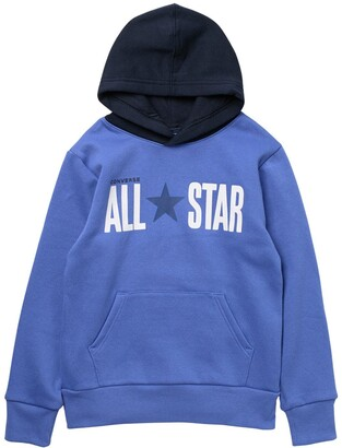 Converse All Star Colorblock Fleece Hoodie
