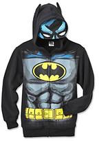Batman Boys' 4-20 Black Eye Mask Hoodie