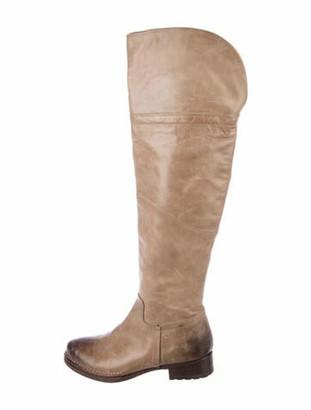 Alberto Fermani Leather Riding Boots