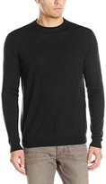 Oxford NY Men's Wool-Blend Crew-Neck Sweater