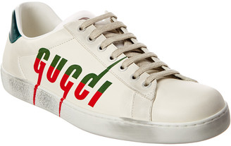 Gucci Ace Blade Leather Sneaker