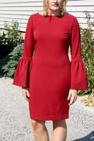 Alberto Makali Flare Sleeve Dress