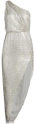 Mason by Michelle Mason Sequin One-Shoulder Sheath Dress