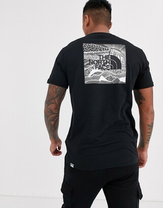 The North Face Redbox Celebration t-shirt in black