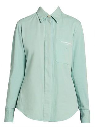Stella McCartney Camicia Stretch-Cotton Shirt