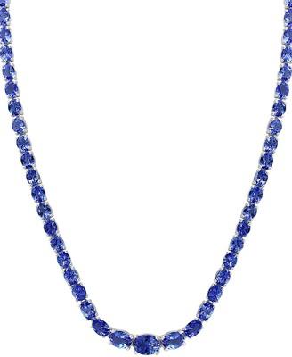 Effy Sterling Silver Tanzanite Necklace