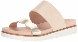 Kensie Women's Digby Slide Sandal Cream 6.5 M US
