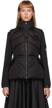 Moncler Black Down Ana Vest