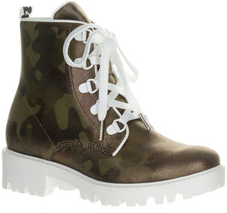 KENDALL + KYLIE Women's Casual boots GOLDCAMO - Gold & White Camo Epic Combat Boot - Women