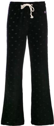 Champion logo stripe sports trousers