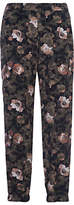 French Connection Adeline Dream Drape Joggers, Olive Multi