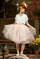 Shabby Apple Bloom Skirt Peach