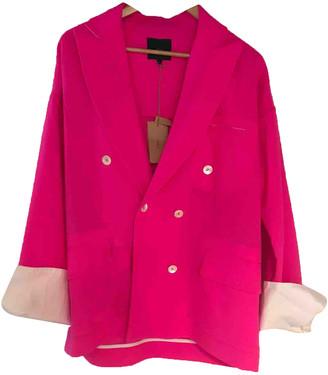 Jejia Pink Wool Jackets