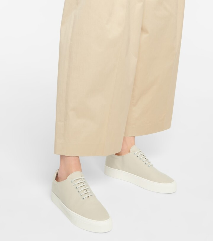 Thumbnail for your product : The Row Marie H canvas sneakers