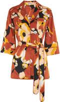 Whistles Sylvia Floral Silk Shirt