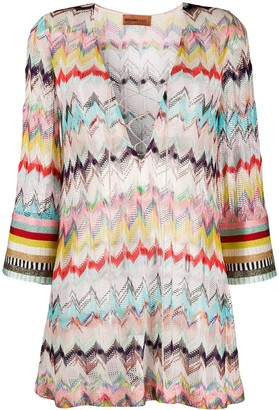 Missoni Mare Fine Knit Beach Dress