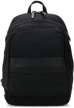 Moncler Logo-Tape Backpack