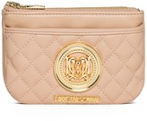 Love Moschino Dual Zip Quilted Wallet