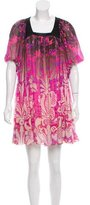 Matthew Williamson Embellished Silk Dress
