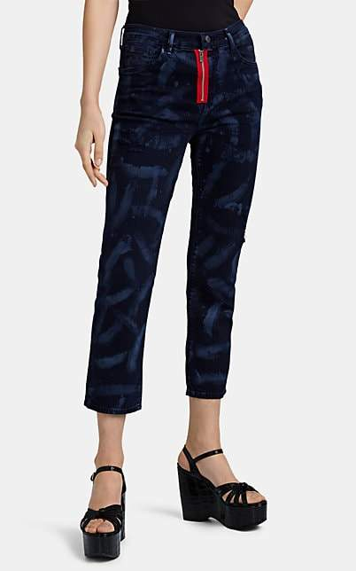 J Brand X KOZABURO Women's Iris Crop Cigarette Jeans - Blue